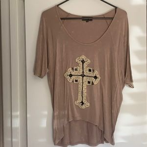 High low boutique size small top